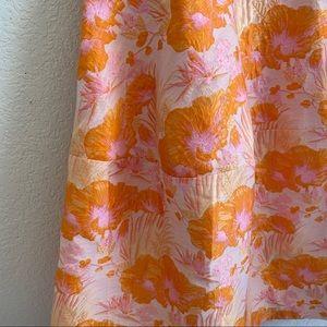 ASOS Dresses - ASOS Jacquard Floral Fit and Flare Dress 14
